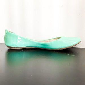 Xhilaration Retro Turquoise Blue/Green Flats